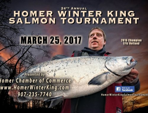 Homer Winter King Salmon Tournament Postponed to March 25th